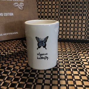 Rae Dunn Ulysses Butterfly Cup/Pencil Cup